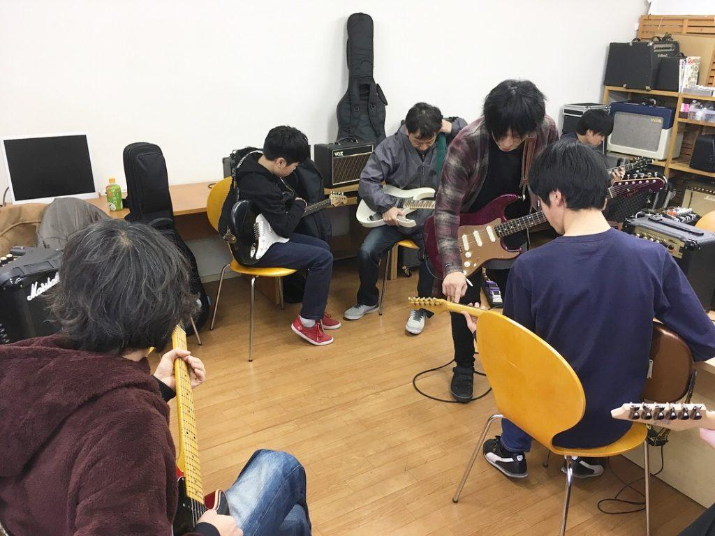 仙台初心者ギターサークル238回目