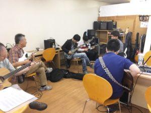 仙台初心者ギターサークル203回目