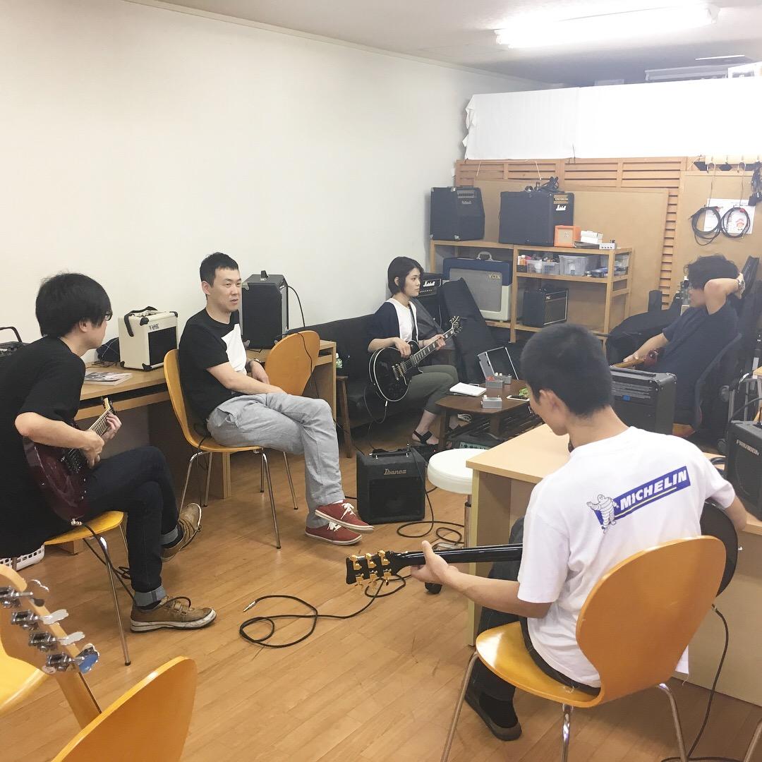 仙台初心者ギターサークル215回目