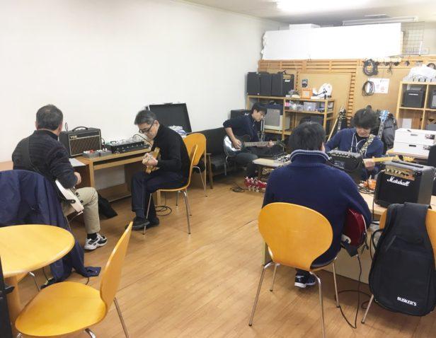 仙台初心者ギターサークル227回目