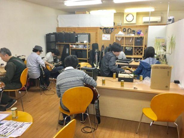 仙台初心者ギターサークル198回目